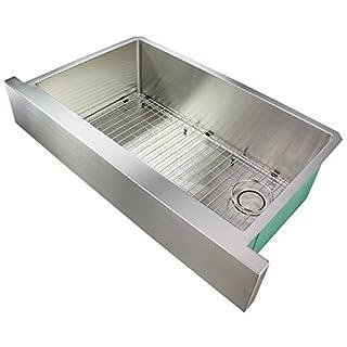 Transolid DUSSF362010 Diamond Undermount Kitchen Sink 1 Sink 90 x 51 x 25 cm Stainless Steel