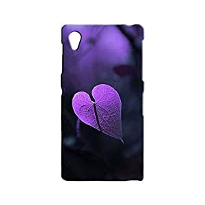 BLUEDIO Designer 3D Printed Back case cover for Sony Xperia Z1 - G0804