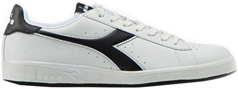 Diadora Men's Game P Low Top Shoes White