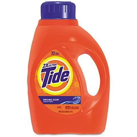 Procter & Gamble : Ultra Liquid Tide Laundry Detergent, 50 oz Bottle, Single -:- Sold as 2 Packs of - 1 - / - Total of 2 Each by Procter And