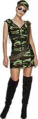 Idea Regalo - SMIFFYS Smiffy's - Costume per travestimento da Militare Sexy, Donna, XS