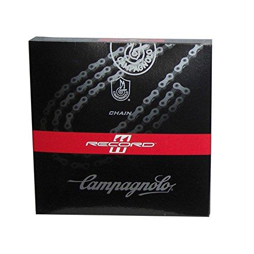 Fahrradkette Campagnolo 11s Record Ultra-Link CN11-RE1 Breite 5,5mm 114 Glieder grau
