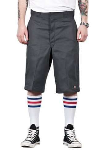 "Dickie Classic Shorts (Dickies – Herren Shorts 13"" Flat Front Work - Grau Dickies42283 Classic Mens Shorts)"