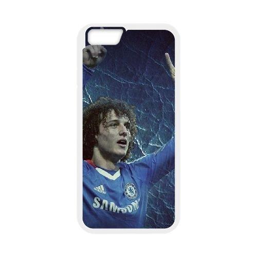 David Luiz coque iPhone 6 Plus 5.5 Inch Housse Blanc téléphone portable couverture de cas coque EBDXJKNBO13381