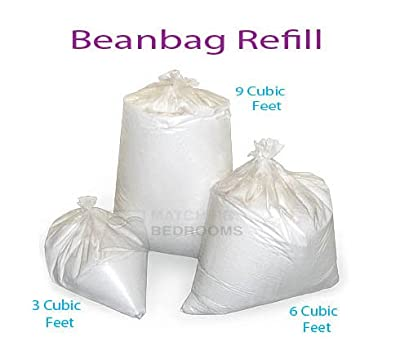 Matching Bedrooms Beanbag Refill 9 Cubic Feet