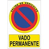 """Cofan P31PL148105 - Señal de seguridad """"Vado Permanente"""""""