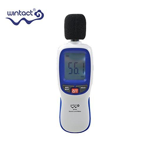 Topker WT85 Medidores nivel sonido LCD Digital 30-130db