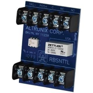 Sensitive Relay 12/24VDC 1Ma DPDT by Altronix