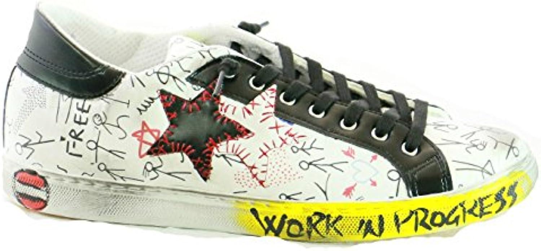 2Star scarpe da ginnastica PE 18 2SU 1812 1812 1812 Bianco MultiColoreee | Di Qualità Fine  4f5da7