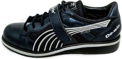 Do-Win weight training shoes 'Gong Lu II' (Power), UK 15, Navy / Silver