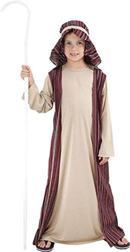 Shepherd Kleid Kostüm - Jungen Fancy Party Kleid Buch, Woche Tag Heiligen Schäferhund Joseph Kostüm Outfit UK