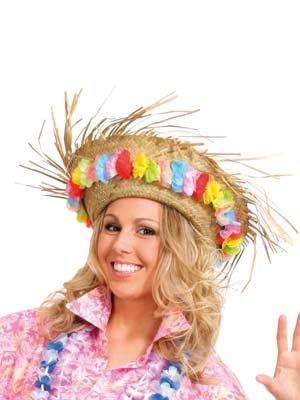 Sombrero-de-paja-de-Hawaii