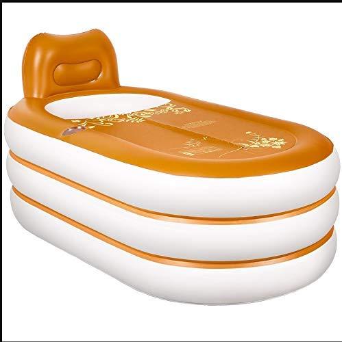 Haushalts-aufblasbare Badewanne, erwachsene tragbare faltende Plastikwanne-elektrische Luftpumpe, erwachsene Badewannen-Badewanne, freistehende aufblasbare Badewanne Haupt-BADEKURORT-Bad