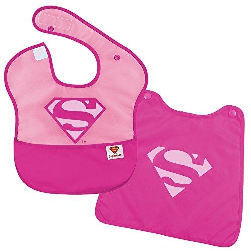 MOLTA® Bib + Cape Supergirl Lätzchen mit Umhang Supergirl Bib