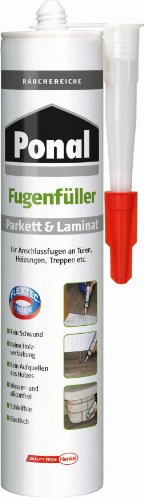 Ponal PN12F Parkett & Laminat Fugenfüller Räuchereiche 280 ml
