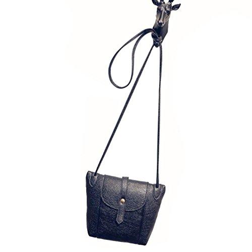 Kolylong Retro Mode féminine en cuir PU Sac à bandoulière épaule Messenger Bag