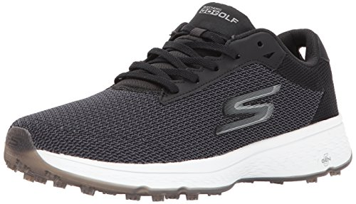 Skechers Performance Men's Go Golf Fairway Golf Shoe, Black/White, 8 M US