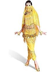 CoastaCloud Femme Belly Danse du Ventre déguisement Danse Super Jolie Robe de danse