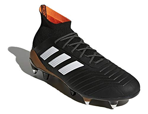 adidas Herren Predator 18.1 SG Fußballschuhe, Schwarz (Cblack/Ftwwht/Solred), 43 1/3 EU