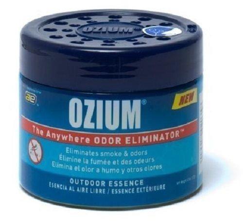 Ozium Rauch und Gerüche Eliminator Gel. Zuhause, Büro und Auto-Lufterfrischer; (127G), Outdoor Essence-Duft (2Pack) durch Kraco (Rauch Gel Eliminator)