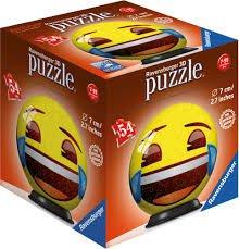Preisvergleich Produktbild Ravensburger 11921 - Emoji 3D-Puzzle