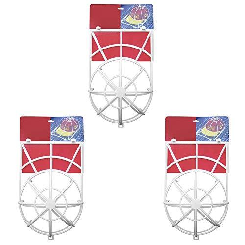 Kyrieval Cap Wash Cap Washer Reinigen Cap Reiniger Spülmaschine Cap Geeignet für Alle Größen, 3 Stück Weiß