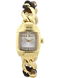 Miss Sixty Damen-Armbanduhr XS BUBBLE Analog Quarz Edelstahl R0753123502