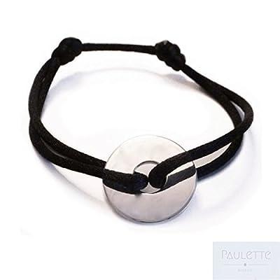 Bracelet Cercle/Cible en Argent 925
