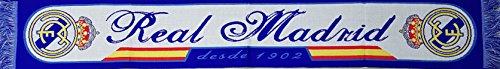 "Bufanda Real Madrid ""azul 1902"". Producto 100% oficial."