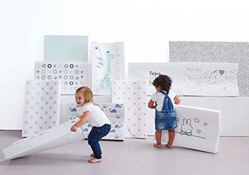 bébé-jou 6800103 Wickelauflage 2K Hello Little One, weiß - 5