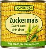 Rapunzel Zucker Mais in der Dose, 1er Pack Konserve (1 x 340g) - Bio