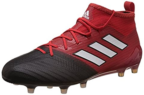adidas Men's Ace 17.1 Primeknit Fg for Soccer Training Shoes, Red (Rosso Rojo/Ftwbla/Negbas), 10 UK