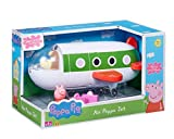 Take off in Peppa's free-wheeling Jet with Miss Rabbit! Includes articulated Peppa figure and 1 suitcase. Open up the doors, lower the stairs, then open the baggage hold and load the suitcases! Flip-over Miss Rabbit figure, to make space for ...