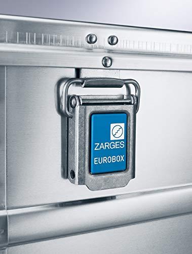 Relags Zarges Eurobox-157 L Box, Silber, 157 Liter - 3