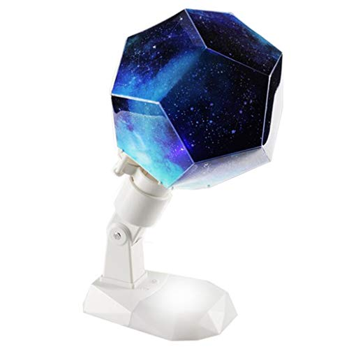 (Star Night Light 12 Constellation Projektions Lampe Projektor USB Bunte Stern Lampentisch Lampe Himmlischen Astro Sky Kosmos Sternen Romantik-Schlafzimmerdekoration Beleuchtung Gadget)