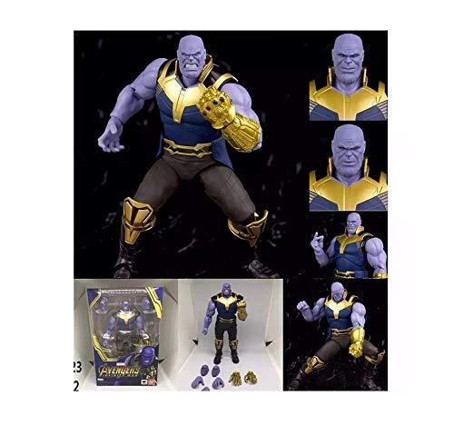 """Avengers Infinity War - Figura Thanos 18 cm articulada con Accesorios / 7"""" Thanos Figure New in Box"""