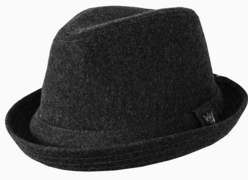 Beechfield - Cappello di Feltro (L-XL) (Bianco Nero) ce2d8c3e3efa