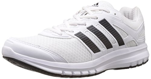 adidas Men's Duramo 6 M White and Cherry Black Mesh Running Shoes - 12 UK  available at amazon for Rs.3255