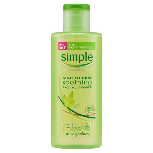 Simple Kind To Skin Soothing Facial Toner 200 ml by Simple H&b Ltd (English Manual)
