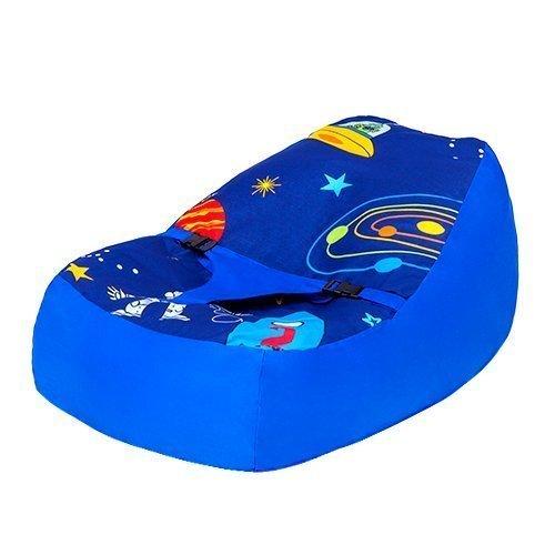 Ready Steady Bett Space Boy Design Baby Sitzsack, mit verstellbarem Sicherheitsgeschirr