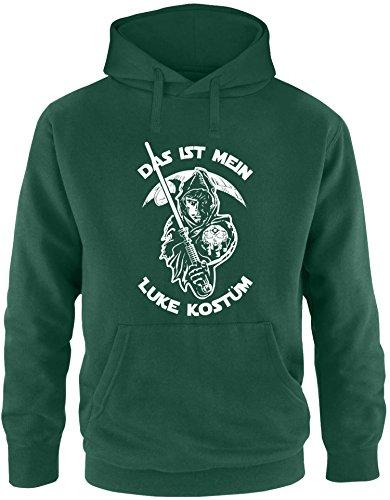 EZYshirt® Das ist mein Luke Kostüm Herren Hoodie (R2d2 Kostüm Hoodie)