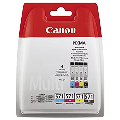 Canon 0386C004 Cartouches d'encre d'origine Noir/Cyan/Magenta/Jaune de Canon - Cartouches d'encre
