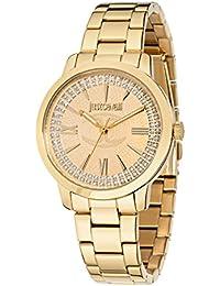 JUST CAVALLI Damen - Armbanduhr CLASS J Analog Quarz Edelstahl R7253574503
