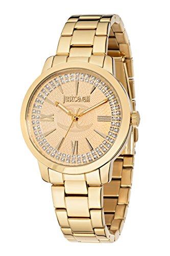 JUST CAVALLI Damen - Armbanduhr Rate J Analog Quarz Edelstahl R7253574503