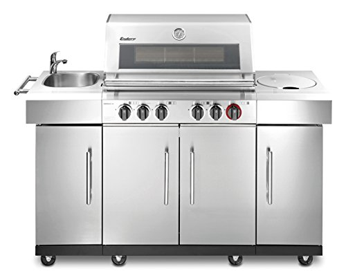 Enders BBQ Gasgrill KANSAS 4 SIK Profi Turbo