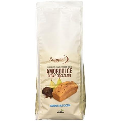 Ruggeri Amordolce Completo Pera e Cioccolato - 400 gr - Forno Pera