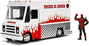 Jada- Marvel Camion de Tacos Deadpool, Multicolor (99730)