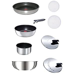 TEFAL INGENIO Set de 9 pièces inox induction