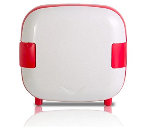Preisvergleich Produktbild BX 4L Auto Kühlschrank Schlafzimmer Student Schlafsaal Droge Hautpflege Produkte Kleinen Kühlschrank , White,white