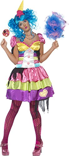 Smiffys, Damen Sieben Todsünden Völlerei Kostüm, Kleid und Haarreif, Größe: S, (Kostüm Todsünden)